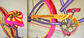 Villy Custom Fashion Bicycles for TIGI hair products, Candy Fixation.png