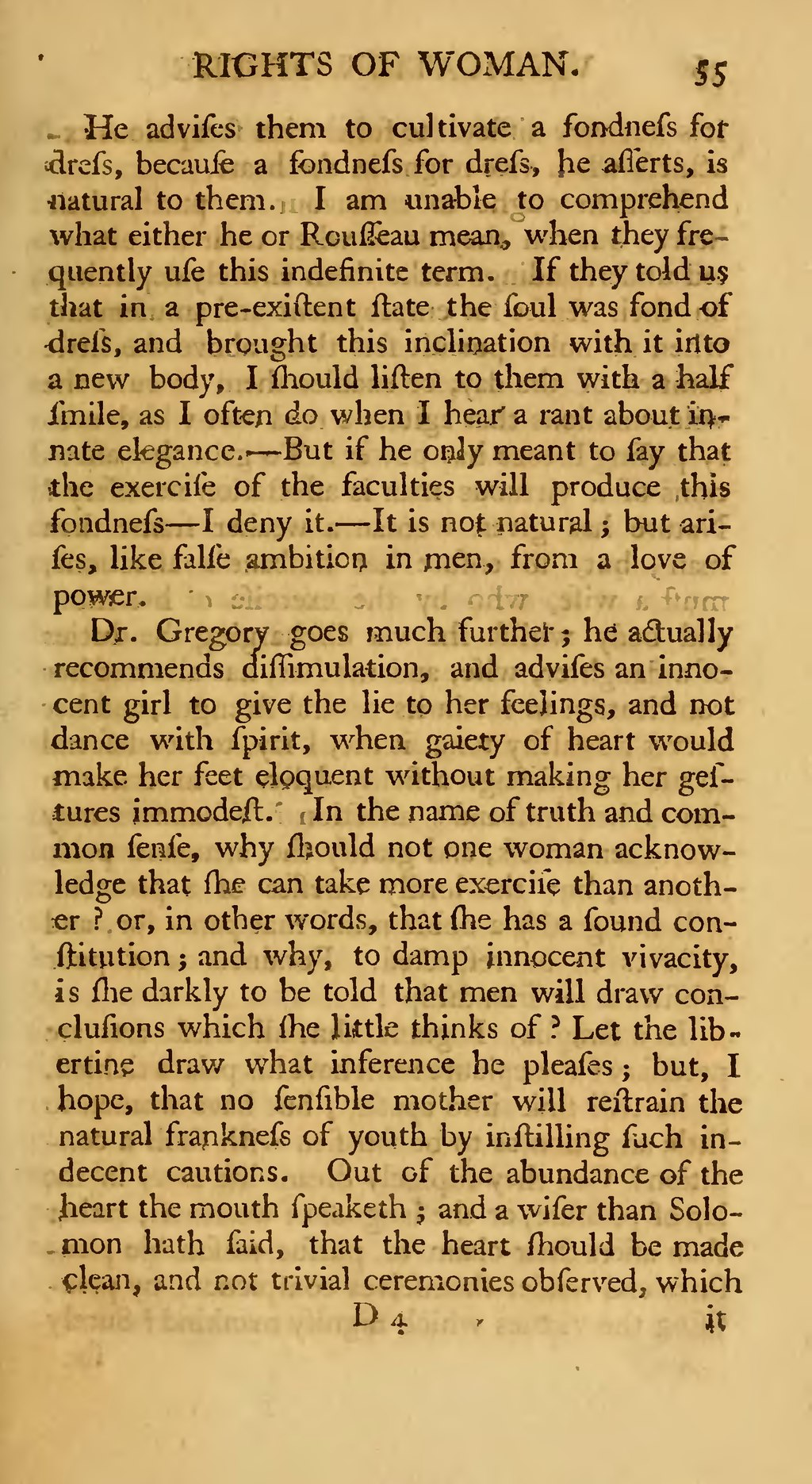 wollstonecraft make women free This paper explores mary wollstonecraft's anti-slavery and feminist views in the vindication of the writes of women: mary wollstonecraft and enlightenment rhetoric, miriam brody applies wollstonecraft's wollstonecraft refutes this claim by encouraging women to break free.