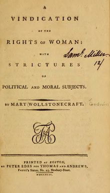 Vindication Women's Rights (Wollstonecraft).djvu