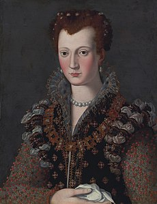 Virginia de' Medici (1568-1615), by studio of Alessandro Allori.jpg