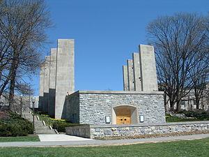 ウォー・メモリアル・チャペル 1872年、バージニア州は、モリル・ラン... バージニア工科大学
