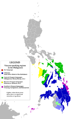 Visayan languages - Wikipedia, the free encyclopedia