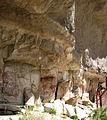 Vista Cueva de las manos - Vista del pasaje donde están ubicadas las pinturas.jpg