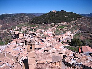 Uncastillo - Image: Vista de Uncastillo (Zaragoza, Aragón)
