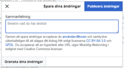 Dialogrutan som dyker upp när du klickat