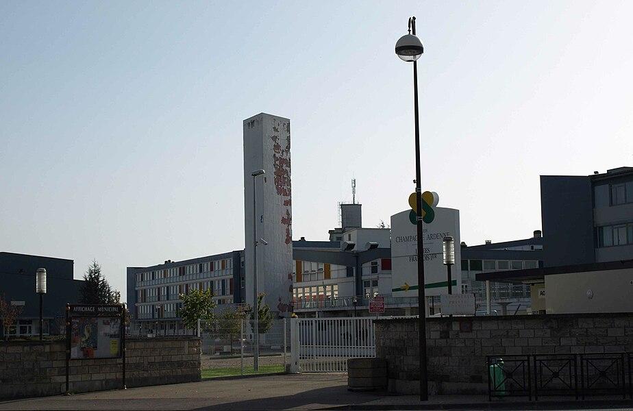Vitry-le-François (51300 - FRANCE): photographies Cité scolaire François Ier (entrée principale des lycées)