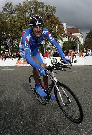 Vladimir Karpets - Karpets at the 2007 UCI Road World Championships.
