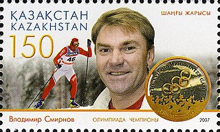 Vladimir Smirnov (skier) Kazakhstani cross-country skier