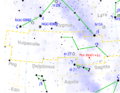 Vulpecula constellation map with PSR B1937+21.png