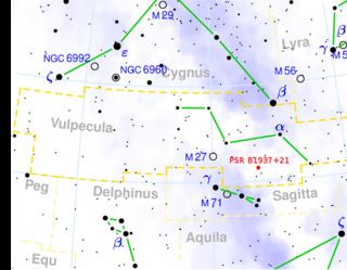 PSR B1937+21 star