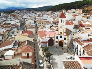 Villanueva del Trabuco Place in Andalusia, Spain