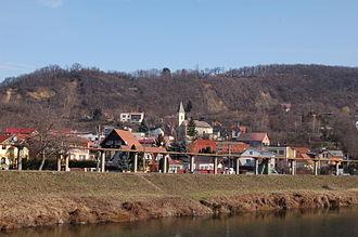 Vyšné Opátske - Panorama of Vyšné Opátske (February 2013)