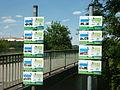 Wörth an der Donau Gaststättenverzeichnis am Donauradweg.JPG