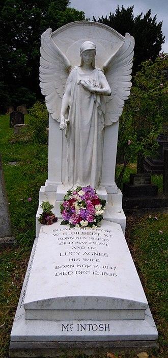 Nancy McIntosh - The grave of Nancy McIntosh at Stanmore