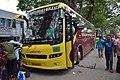 WBSTC Volvo Bus Sauhardya-1 - WB 23 B 9223 - Petrapole - North 24 Parganas 2015-05-29 1323.JPG