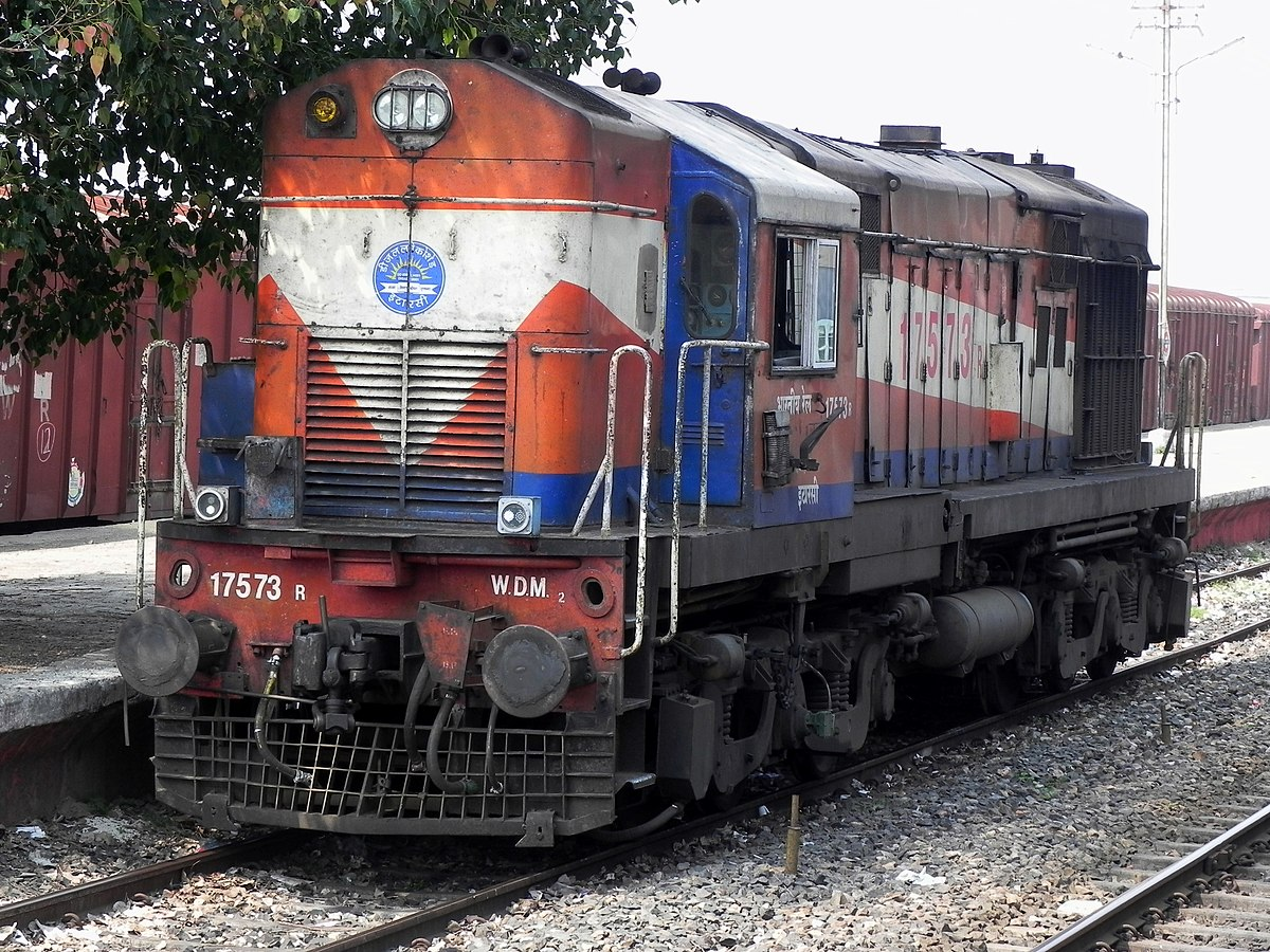 Indian Locomotive Class Wdm 2 Wikipedia 4 6 Engine Oil System Diagram