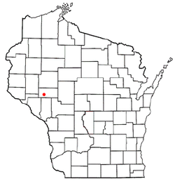 Location of Cleghorn in Wisconsin