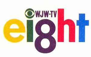 WJW (TV) - WJW-TV logo used from 1966 to 1977; it was introduced when the station began transmitting programs in color.