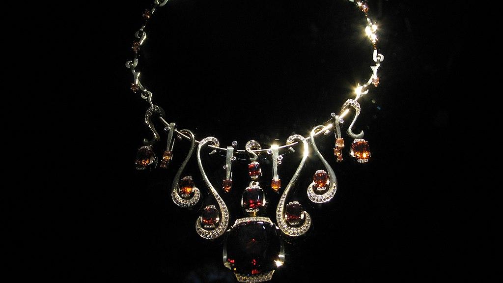Diamond K Necklace