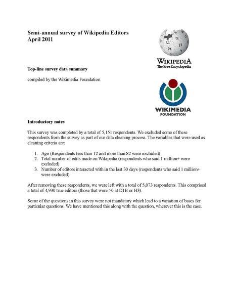 File:WP 2011 Editor's Survey - Topline.pdf