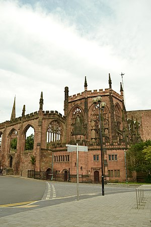 Grade I listed buildings in Coventry - Image: WTC Mattley DSC 0007