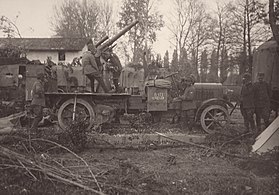 WWI - Eleventh Battle of the Isonzo - Italian 75mm anti-aircraft gun.jpg