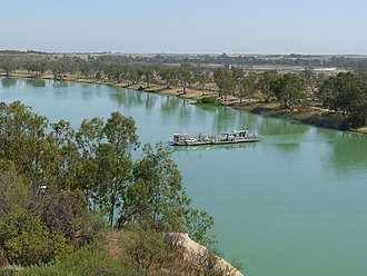 Waikerie, South Australia - Image: Waikerie ferry, Riverland 1