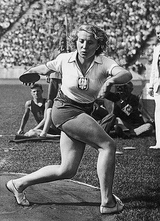 Jadwiga Wajs - Jadwiga Wajs in 1937