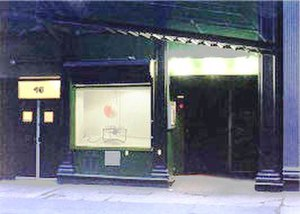 Soho Repertory Theatre - The entrance to Soho Rep's space