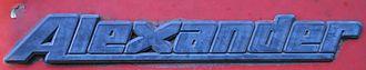 Walter Alexander Coachbuilders - Image: Walter Alexander Coachbuilders logo