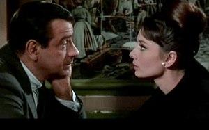 Screenshot of Walter Matthau and Audrey Hepbur...