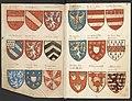 Wapenboek Beyeren (armorial) - KB79K21 - folios 018v (left) and 019r (right).jpg