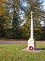 War Memorial, Upper Strensham - geograph.org.uk - 279257.jpg
