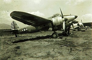 Kawasaki Ki-45 - Captured Ki-45 following the end of the war