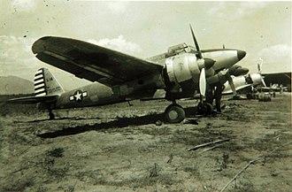 Kawasaki Ki-45 - Captured Ki-45 following the end of the war