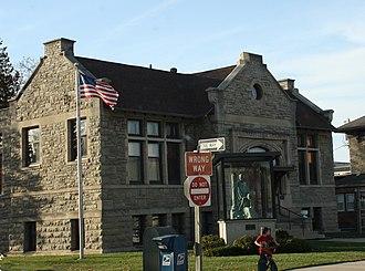 Waupun, Wisconsin - Image: Waupun Public Library NRHP