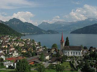 Place in Lucerne, Switzerland