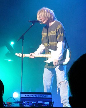 "Smells Like Nirvana - ""Weird Al"" Yankovic performing ""Smells Like Nirvana"" in concert, dressed like Kurt Cobain."