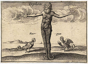 Typhon - Depiction by Wenceslas Hollar
