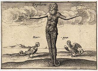 Typhon - Depiction by Wenceslas Hollar