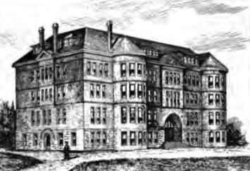 West Hall Portland University 1894