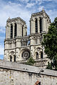 West facade of Notre-Dame, Paris 17 August 2013 002.jpg