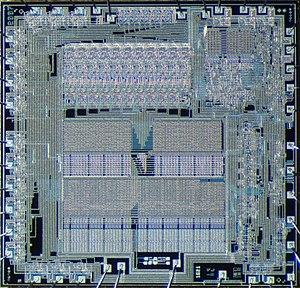 MCP-1600 - Image: Western Digital 2007 die