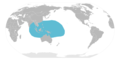 Western Indo-Pacific region distribution map.png