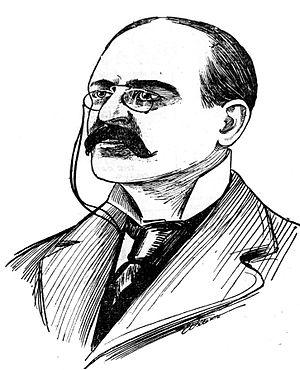 Whitaker Wright - Drawing of Whitaker Wright, 1904
