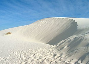 White Sands, New Mexico - Peak of the White Sands, 2003
