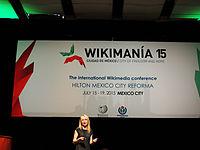 Wikimanía 2015 - Day 3 - Opening Ceremony - México DF 4.jpg