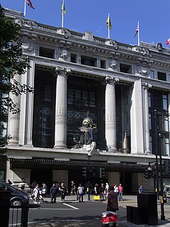department store in Oxford Street, London