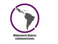 Wikiproyecto Mujeres Latinoamericanas logo.png