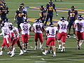 Wildcats on offense at Arizona at Cal 2009-11-14 7.JPG